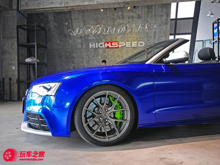 奥迪A5敞篷版改装RS5 性能外观升级