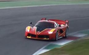 赛道实拍法拉利Ferrari FXX K