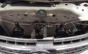 丰田锐志改装蜗牛喇叭详细过程作业