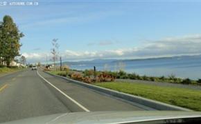 奔驰GLK350加拿大提车记 景美车更美