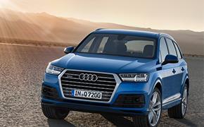 全新Audi Q7极限性能评测