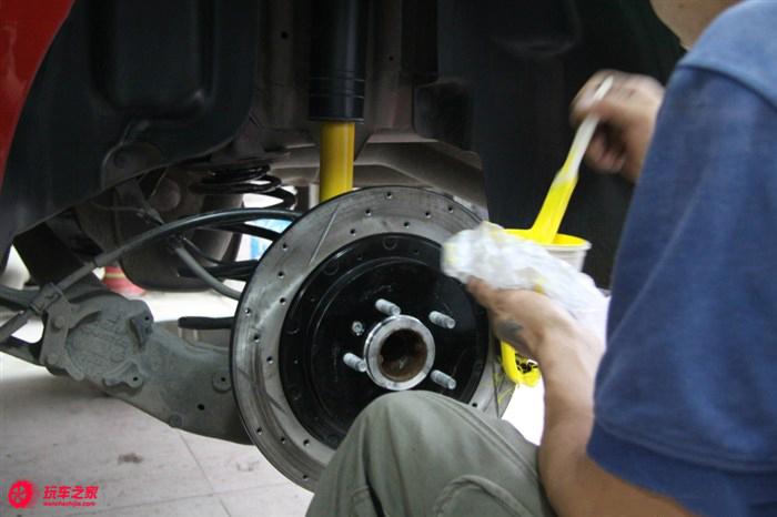刹车操控升级 科鲁兹改装刹车