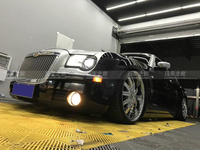 美式低趴风 克莱斯勒300C改装案例