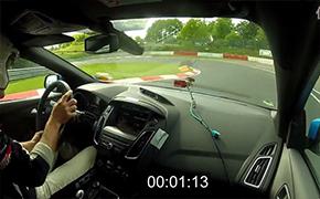 8分06秒 福克斯RS 纽伯格林北环测试