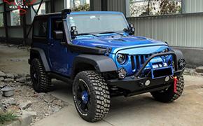 Jeep牧马人2.5寸底盘升高知识 套件作用介绍