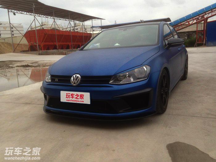 高尔夫7改装R400包围 全车操控升级