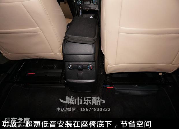 福特探险者汽车音响改装 隔音升级降噪