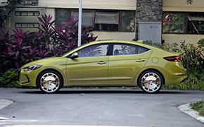 现代领动改装轮毂 六套轮毂改装效果