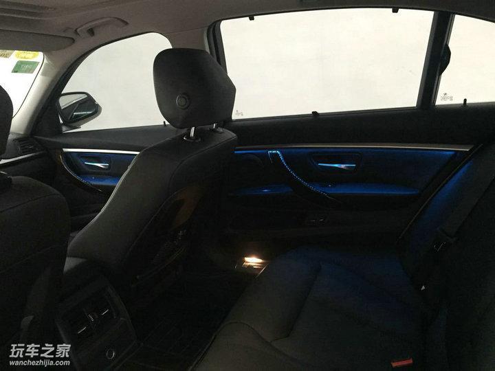 宝马3系改装328m方向盘 氛围灯