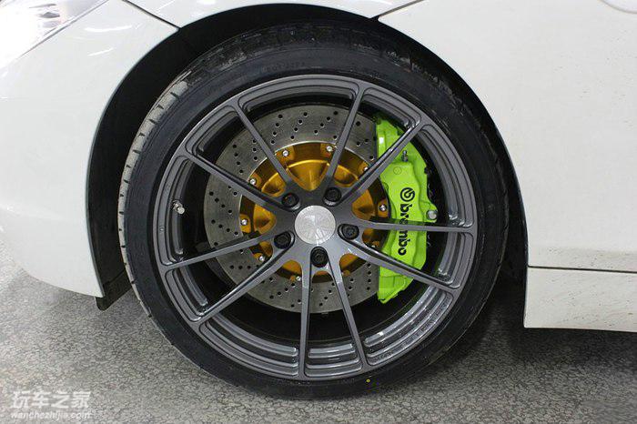 电镀绿狂魔 宝马Z4改装案例