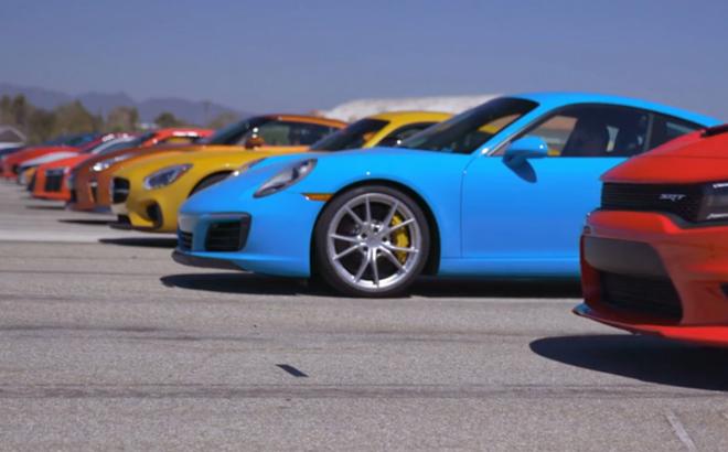 2016 MT年度跑车直线加速大赛