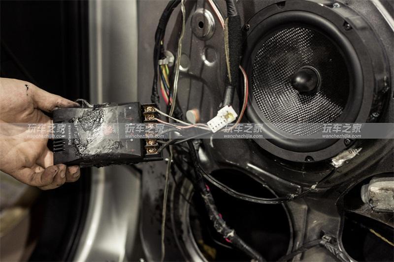 现代ix35汽车音响改装