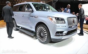盘点2017纽约车展首发亮相SUV车型