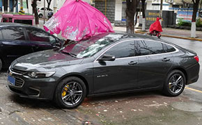 2017款迈锐宝XL改装锻造轮毂 刹车升级