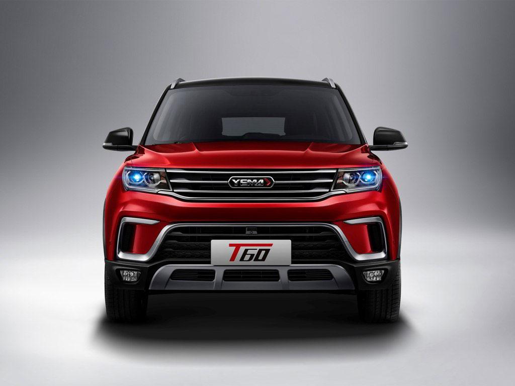 """野马全新小型SUV定名""""T60"""" 或年内上市"""