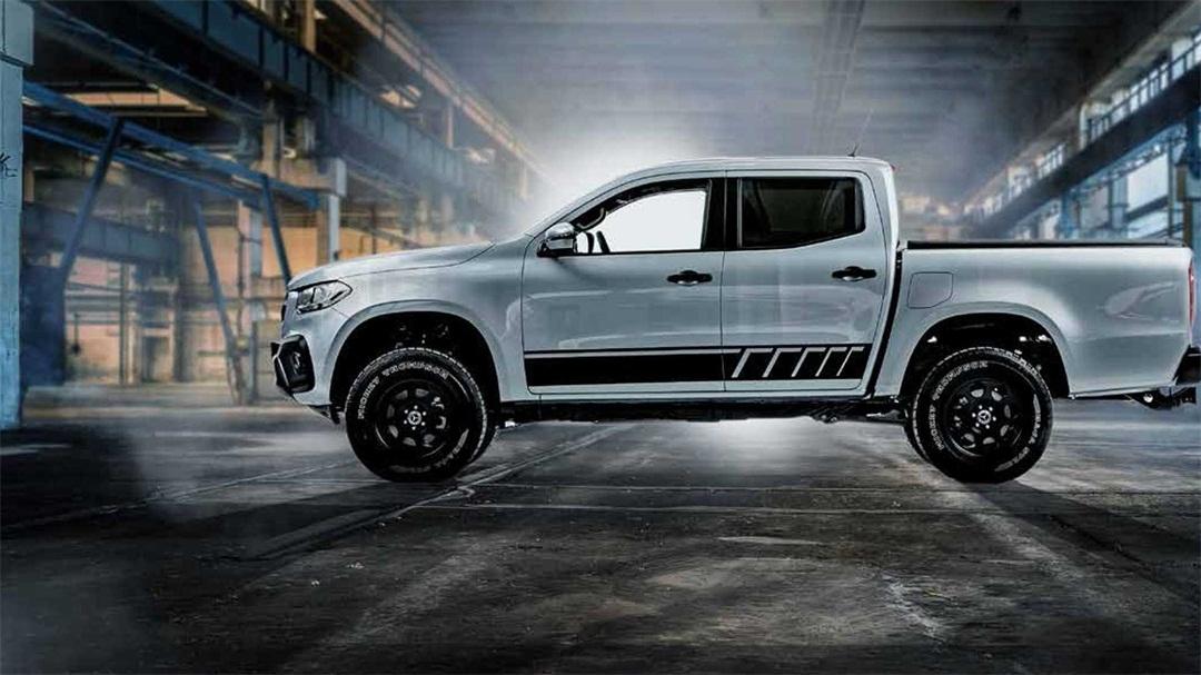 奔驰X级皮卡新车型官图发布 越野性能升级