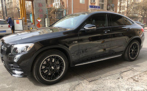 奔驰AMG GLC43 coupe改装20寸BBS CH-R II轮毂