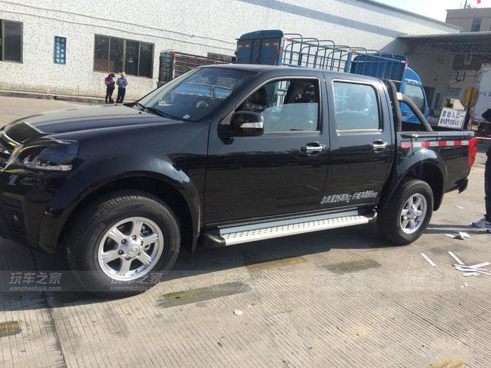 长城风骏5欧洲版改装减震升高 更换大尺寸轮胎