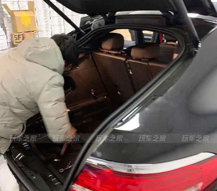 奥迪A5换奔驰GLC 43 Coupe,改装63S包围更帅气