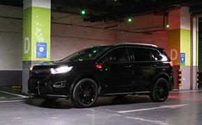 福特锐界提车一年半后改装黑武士 没想到SUV也能这么帅