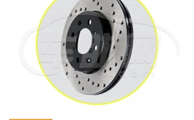 英菲尼迪 日产 StopTech 原装美国进口改装分体打孔刹车盘
