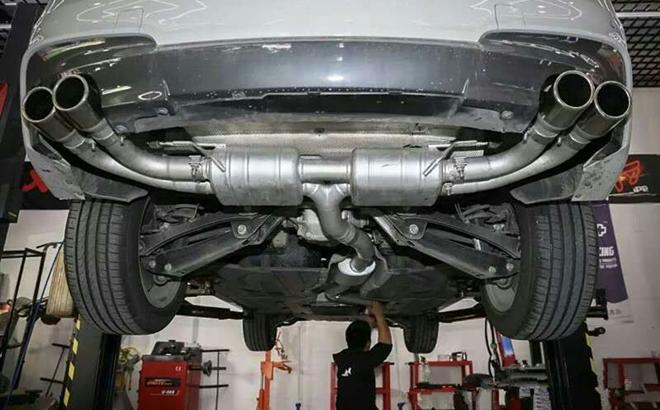蜕变从声浪开始 宝马X3改装Repose排气