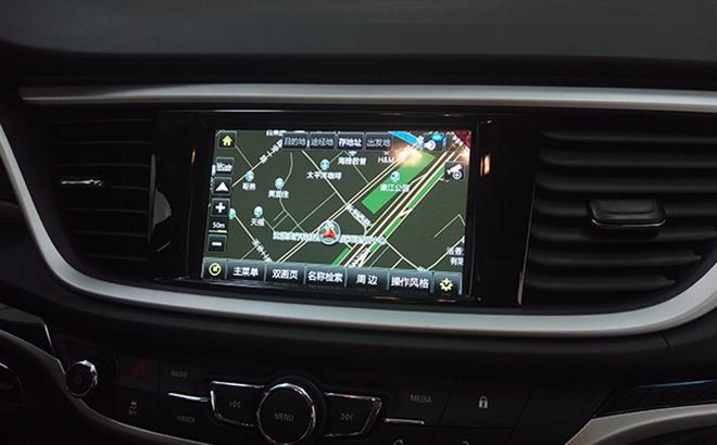 别克新英朗不换屏改装导航和倒车影像