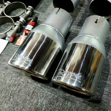 新款奥迪A6L 3.0T 改装Repose四出阀门排气