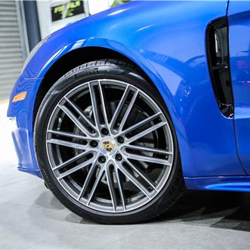 网红款轮毂,新款保时捷升级21寸轮毂钢圈