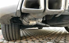 奔驰GLK260 改装Repose中尾段阀门排气