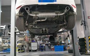 大众高尔夫1.4T 改装Repose双边单出阀门排气