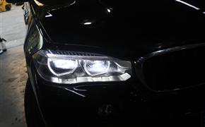 宝马X5改装LED大灯