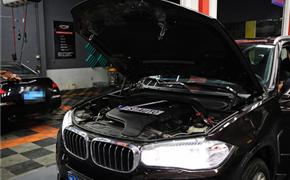 黑大个 宝马X5 2.0T 刷ecu动力升级 范式汽车让它更快更猛!