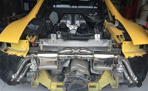 奥迪R8改装IPE可变阀门排气
