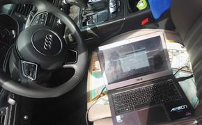 奥迪A6Lallroad刷ecu升级拓展潜在动力与操控驾控更随心