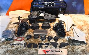 奥迪A6 allroad升级原厂BOSE音响+胎压监测