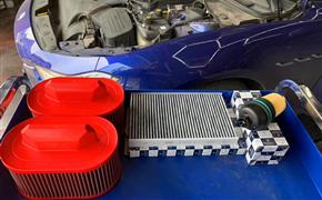 玛莎拉蒂Ghibli常规维护保养,更换机油和BMC高流量风格