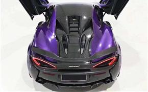 迈凯伦570S改装novitec干碳纤维尾翼,完美契合车身,完美契合车身
