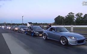 美国honda Day超大型改装车展