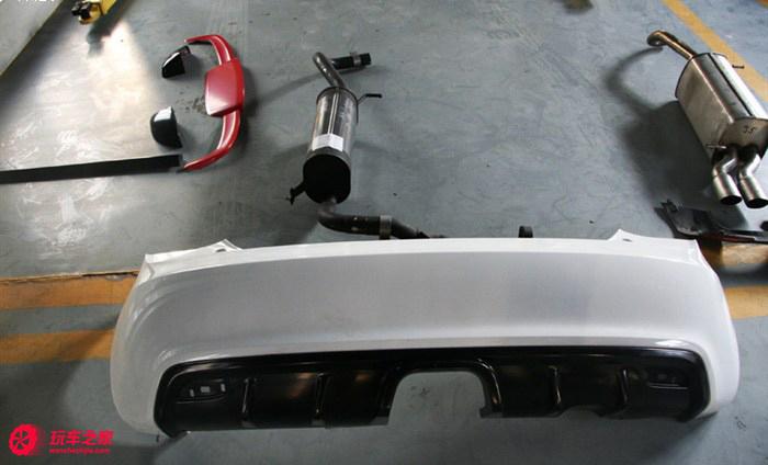 奥迪A1改装正品ABT套件 外面进级