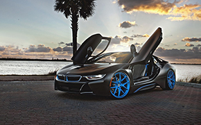 油电宝马BMW i8改装HRE Performance Wheels最新轮毂
