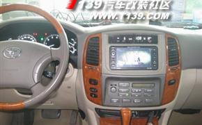 丰田4700陆地巡洋舰改装DVD导航系统