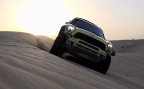 MINI ALL4沙漠狂野飙车