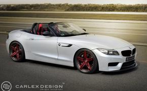 BMW Z4赛车极限飚速