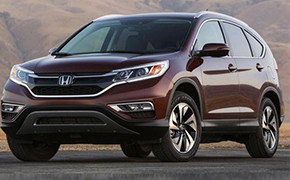 试驾2015款Honda New CR-V