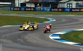 摩托GP赛车 vs 印地方程式赛车