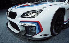 2015法兰克福车展实拍宝马BMW M6 GT3赛车