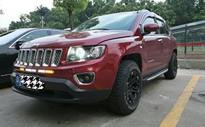 吉普Jeep指南者改装轮毂轮←胎