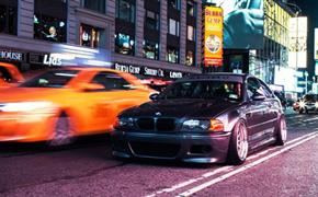 曼哈頓霓虹燈之下 寶馬E46 M3改裝案例