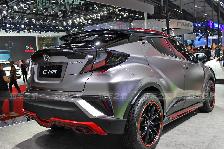 有质感的丰田C-HR外面改装案例
